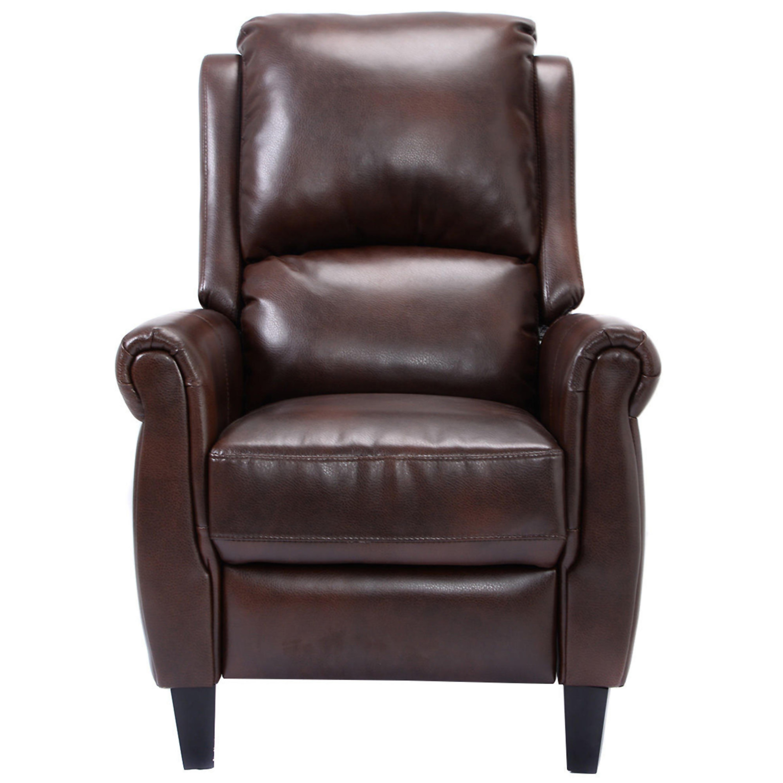 Push Back Chair Goplus Leather Push Back Leather Recliner Chair Sears