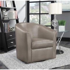 Sears Accent Chairs Folding Chair Dolly Coaster Faux Leather Upholstered Marketplace