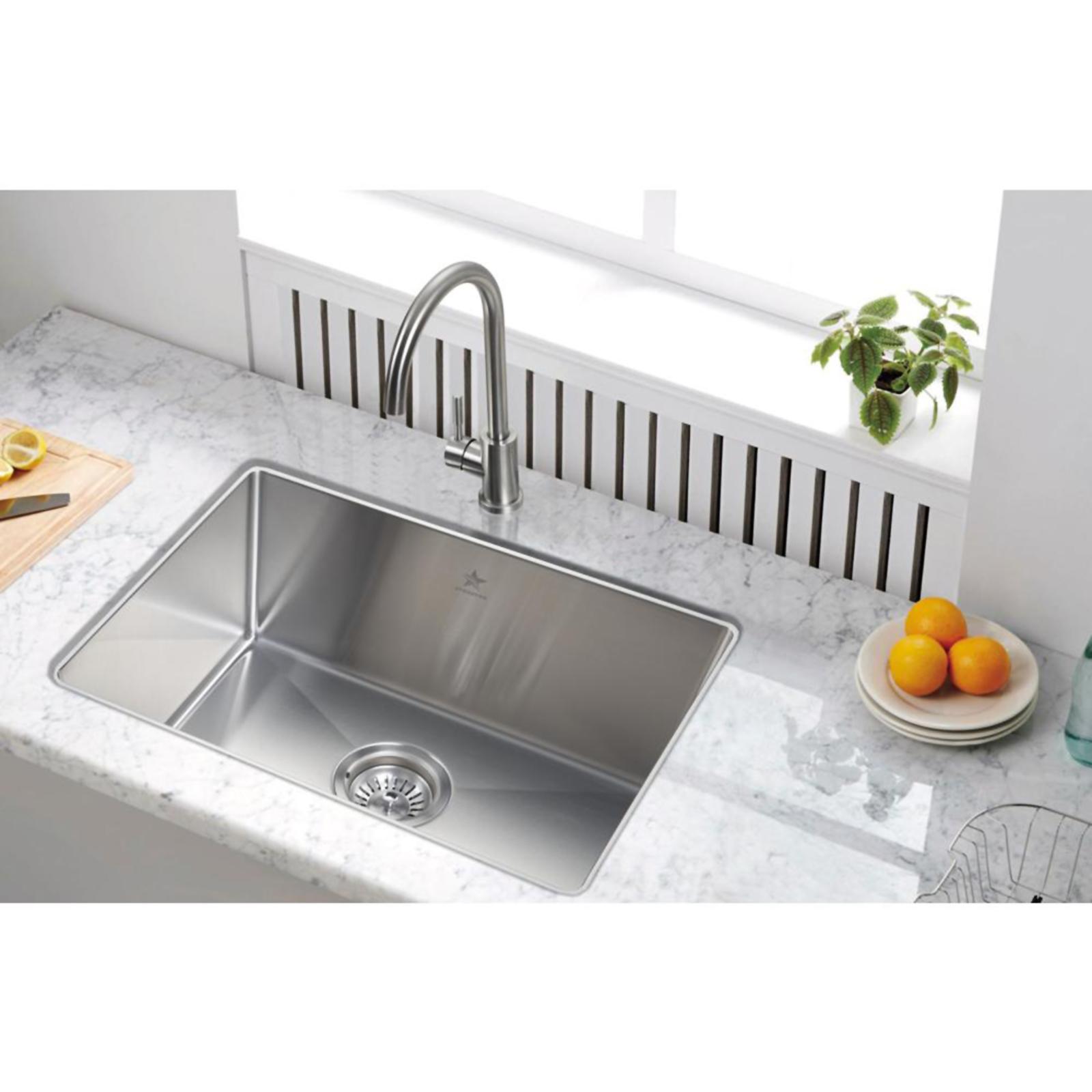 undermount single bowl kitchen sink white knobs for cabinets starstar 21 x 16 sears marketplace