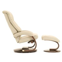 Mac Motion Chairs Mandel Leather Swivel Recliner - Sears ...