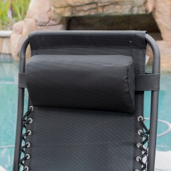 Cup Holder Tray For Zero Gravity Chair Fishing Side Table A 014 Hg 14070 Belleze 2 Pack Patio Lounge Chairs Utility