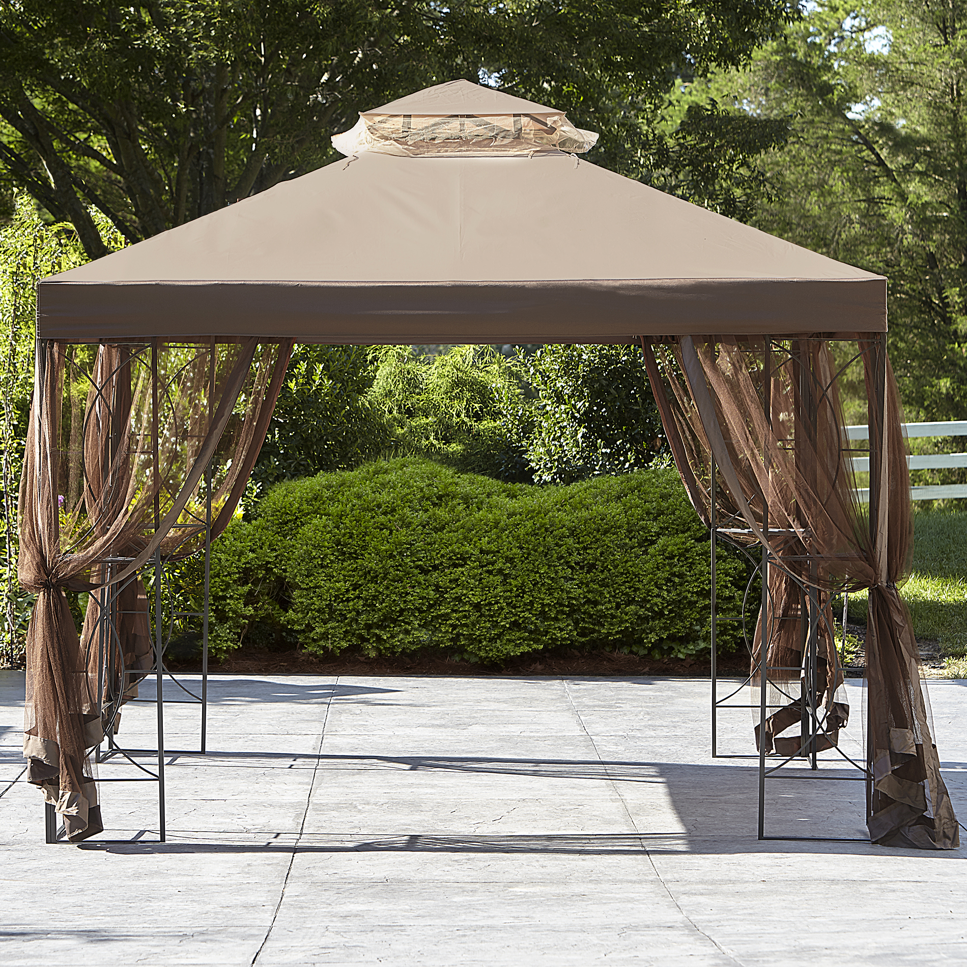 Essential Garden Replacement Canopy 10x10 Callaway Gazebo