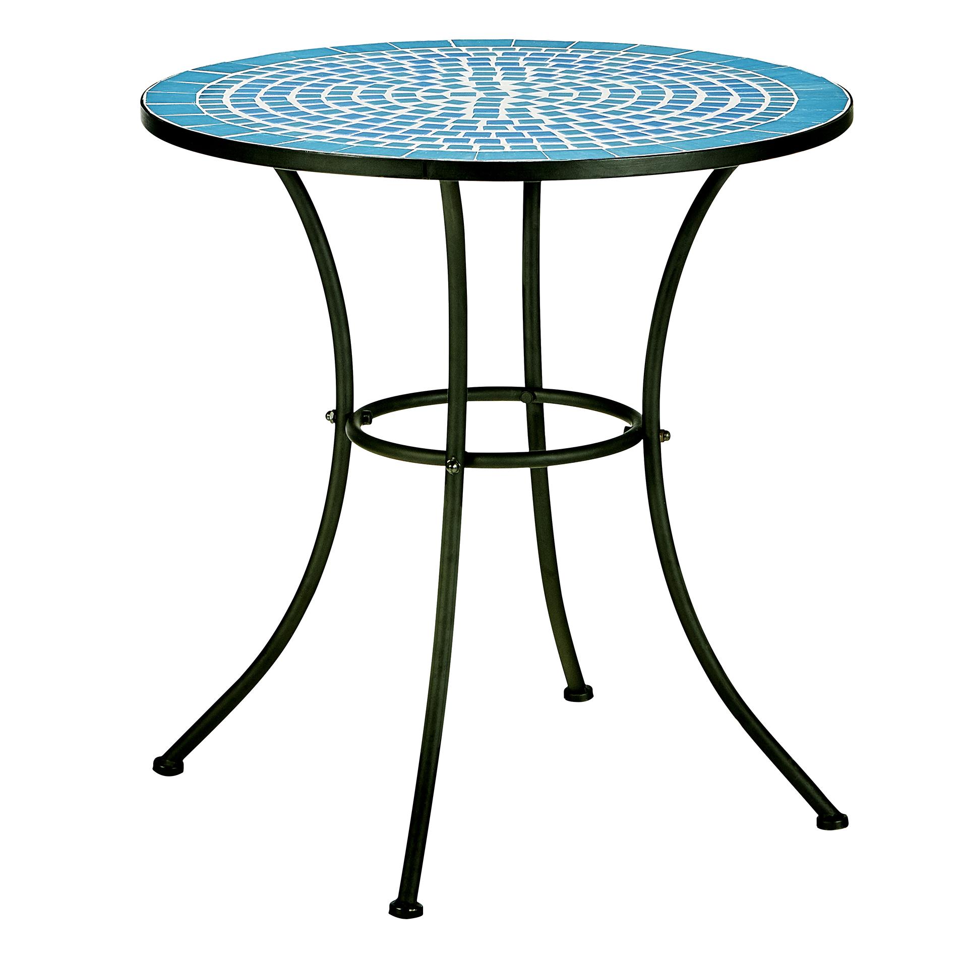 Essential Garden Patterson Mosaic Bistro Table  Outdoor