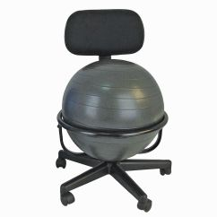 Ball Chairs Fatboy Bean Bag Canada Exercise Balls Sears Cando Chair Metal Mobile With Back No Arms 18