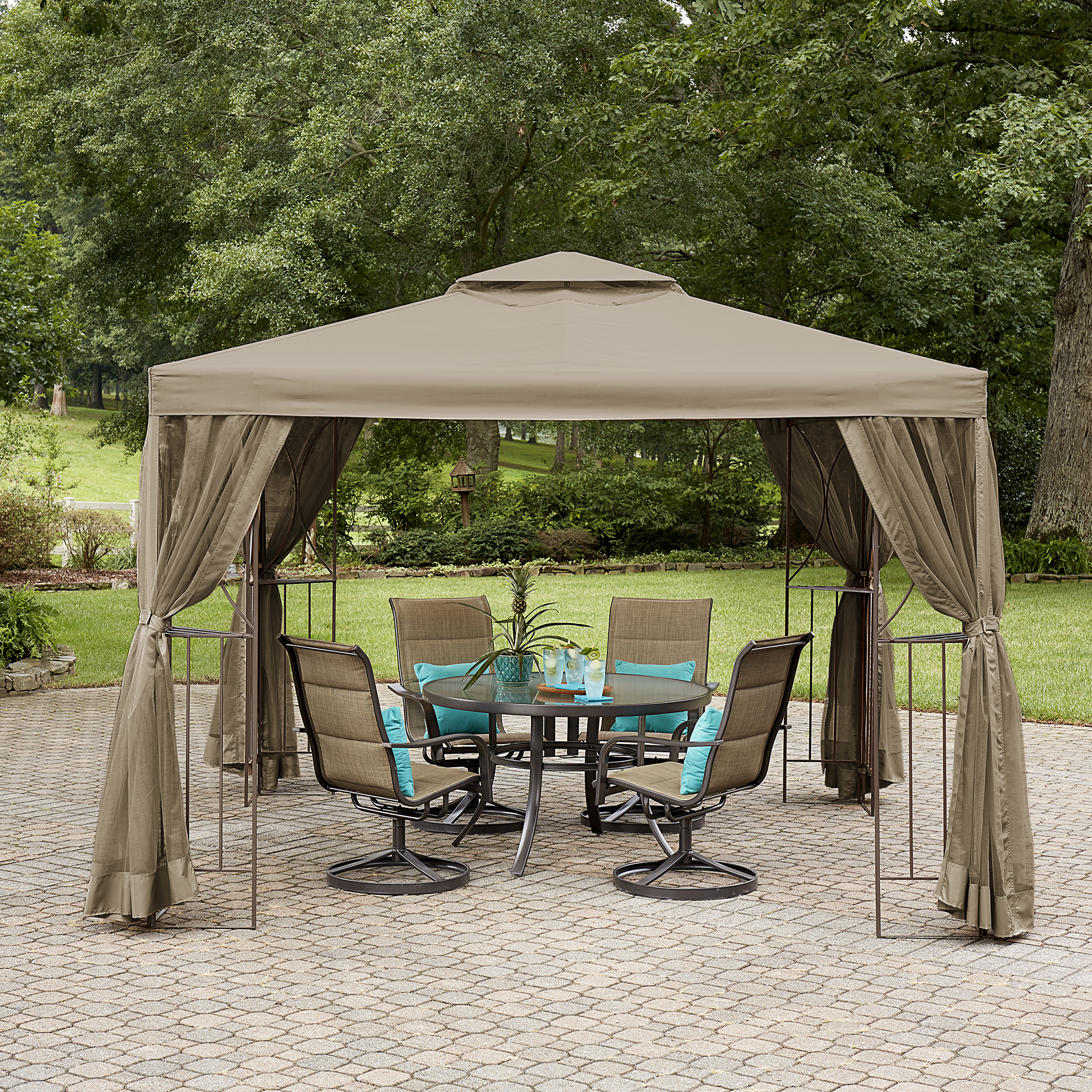 Garden Oasis Lakeville 10' X Canopy Gazebo With Insect Netting Limited Availability