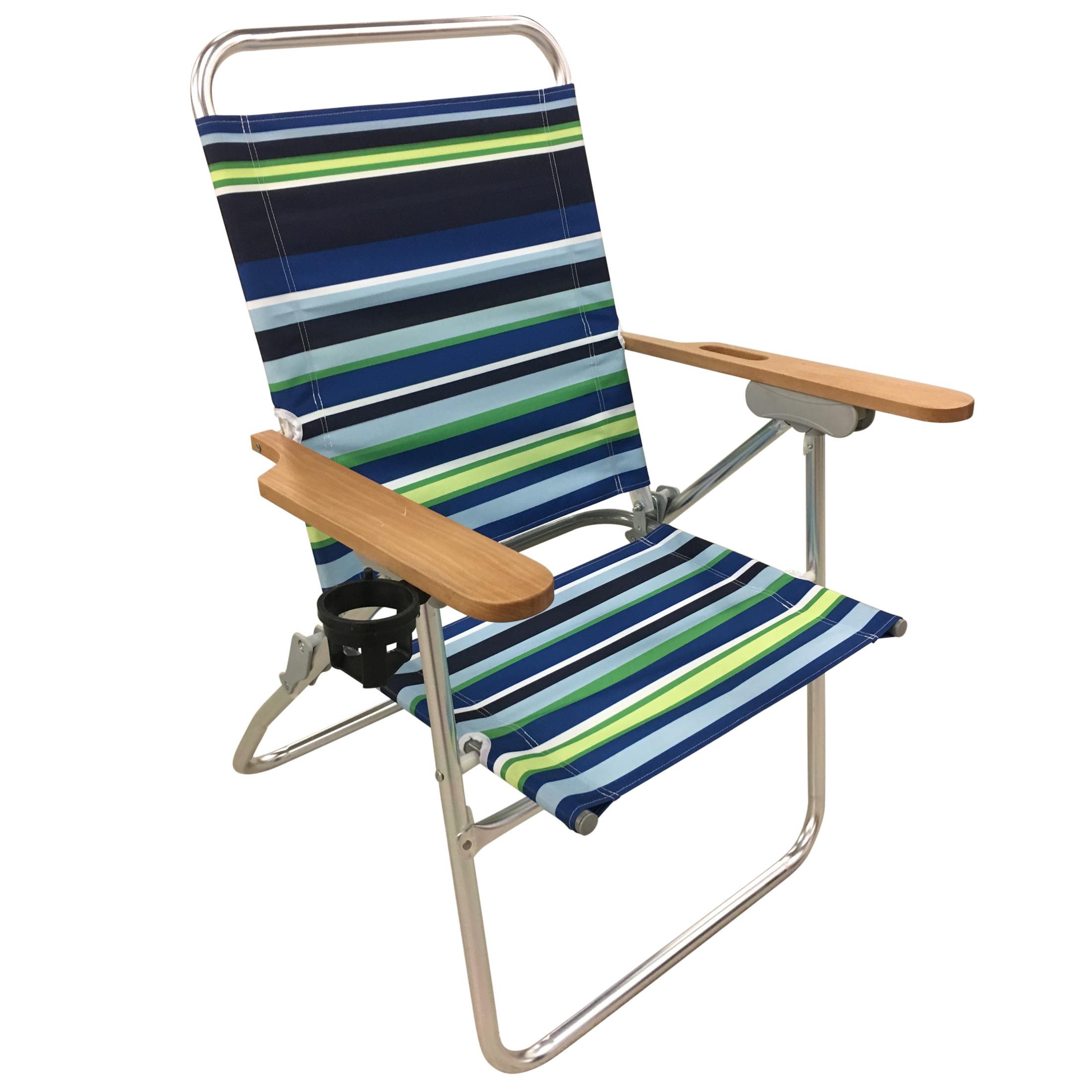 Essential Garden Tall Boy Beach Chair Limited Availability