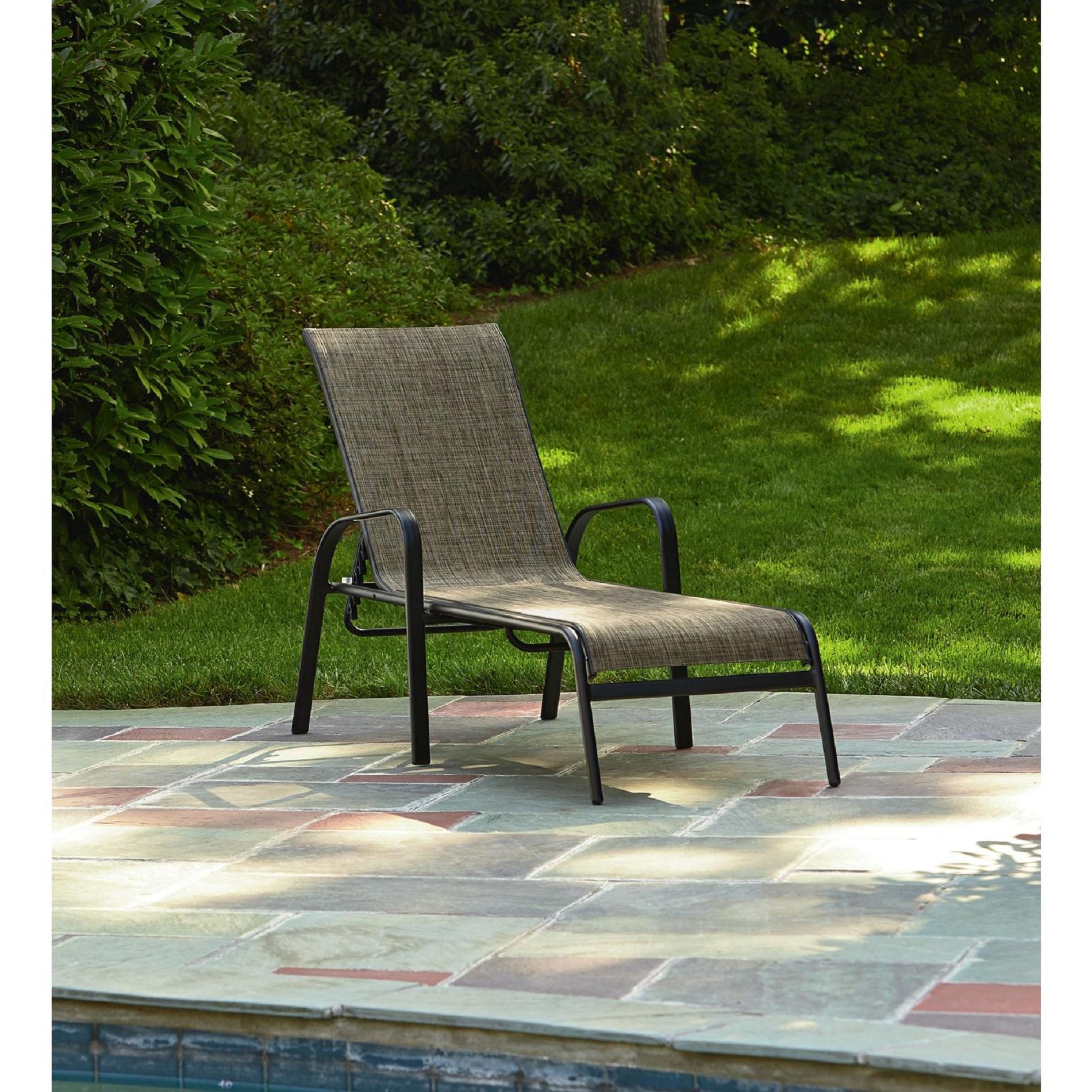 sun lounge chairs kmart hammock chair chaise patio essential garden bartlett neutral