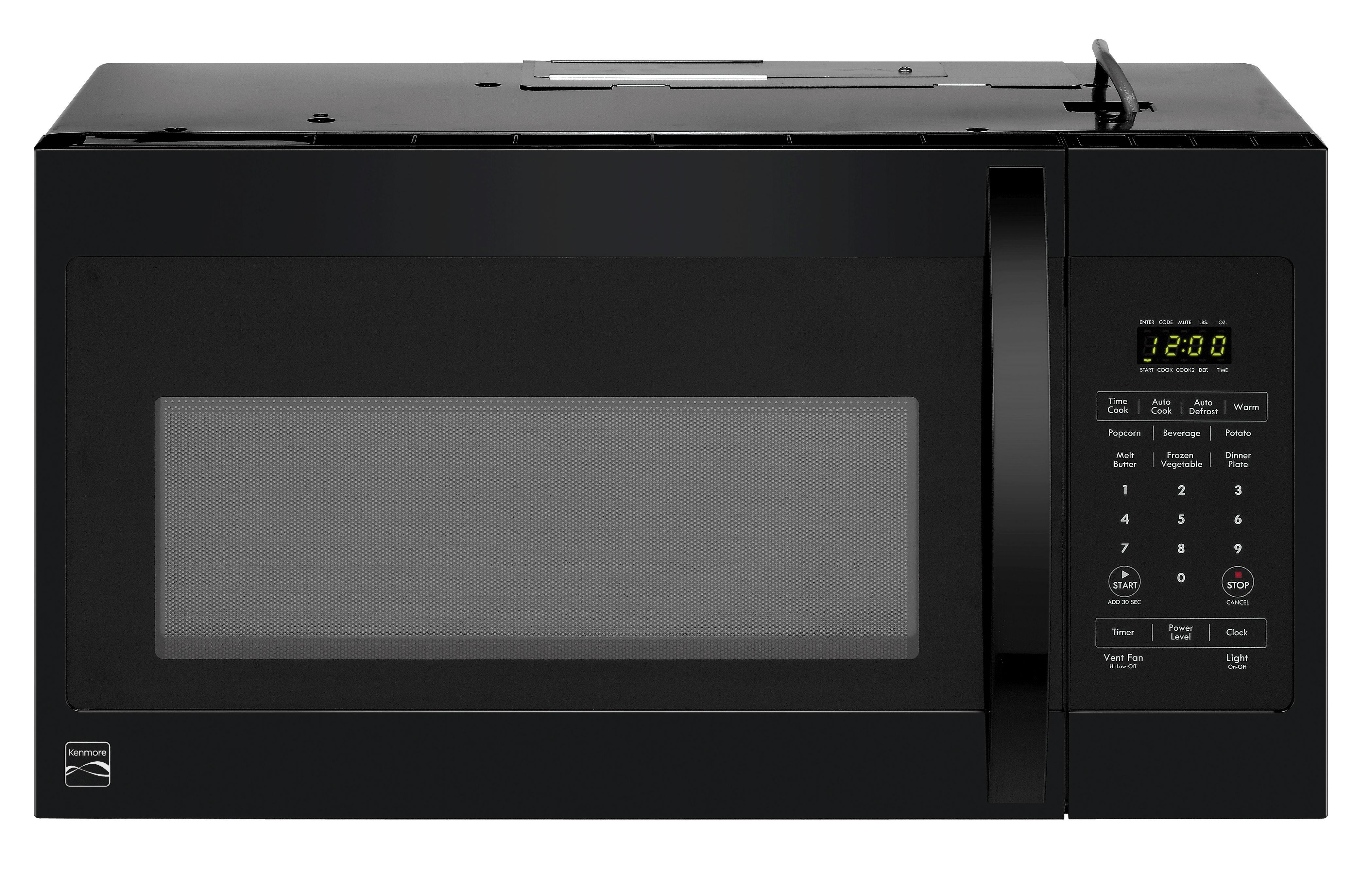 over the range microwaves kmart