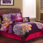 Upc 783048712820 Flower Show Bedding Comforter Set Purple Upcitemdb Com