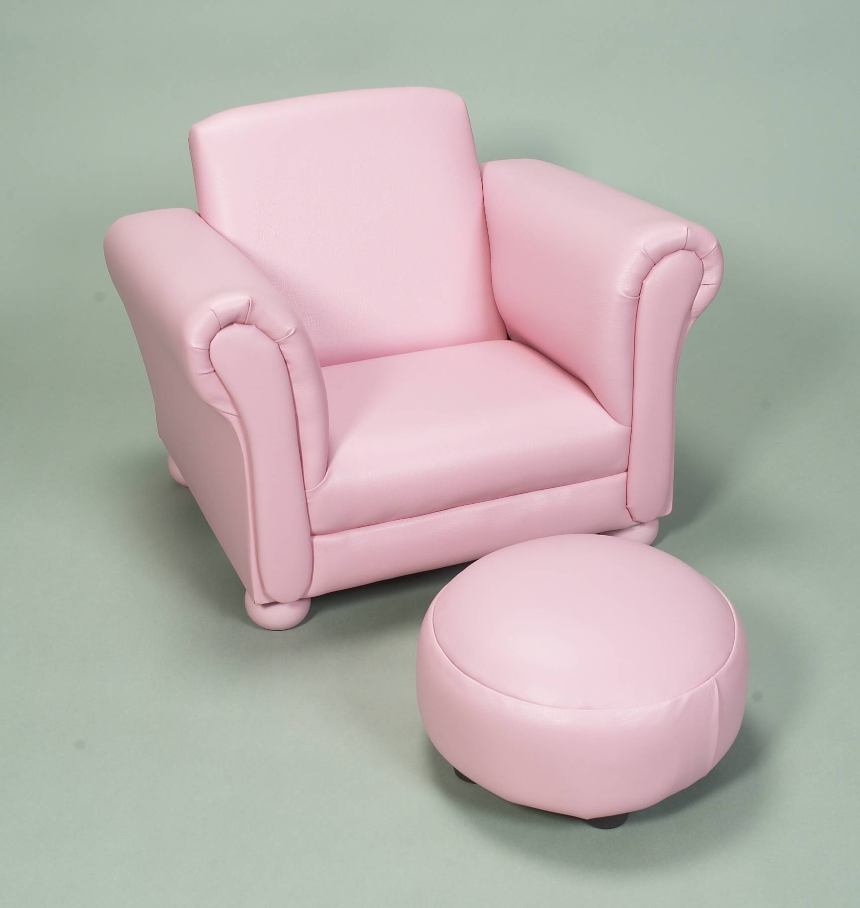 Pink Upholstered Chair Gift Mark Child 39s Upholstered Chair W Ottoman Pink