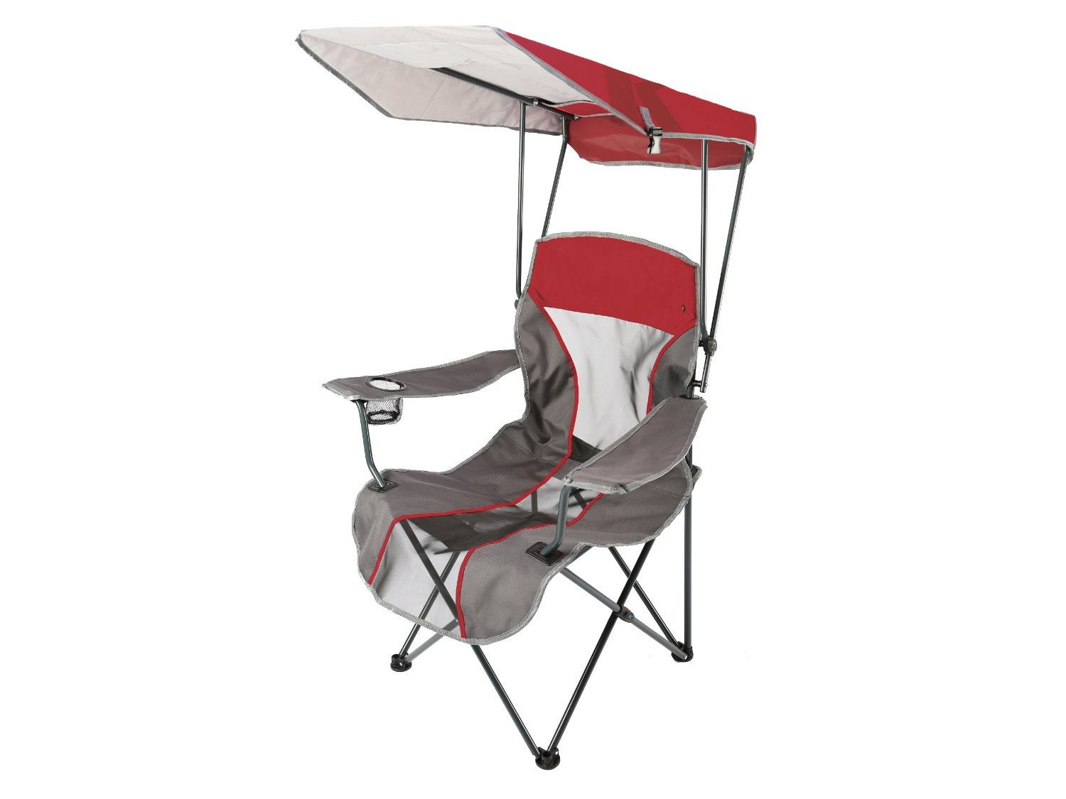 Camping Chair With Canopy Upc 795861801872 Kelsyus Premium Red Canopy Folding Chair