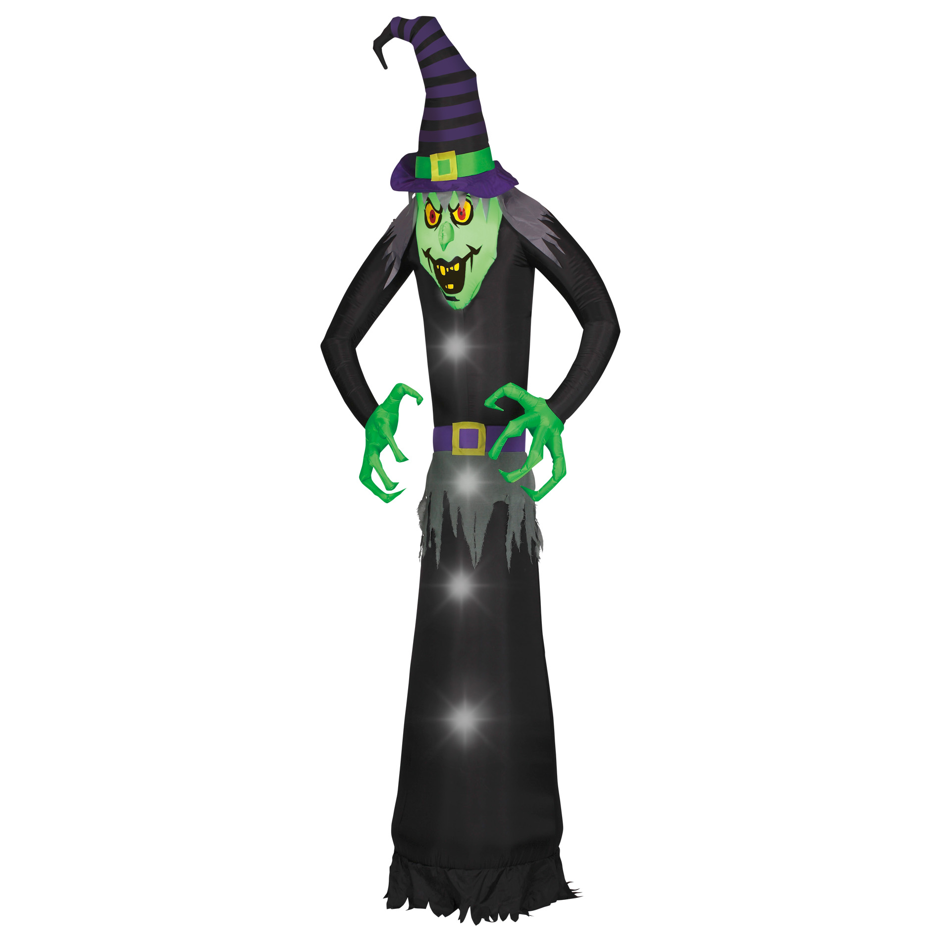 Totally Ghoul Airblown-wicked Tall Witch-giant 12