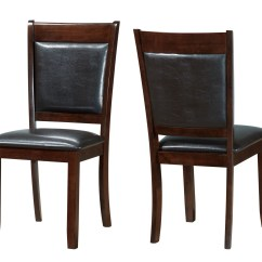 Monarch Dining Chairs Black Chair Covers For Weddings Specialties 2pcs 38 Quoth Dark