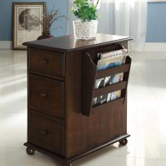 Deals On Living Room Furniture Bars For Sale Of America Zenners Dark Walnut Side Table With ...