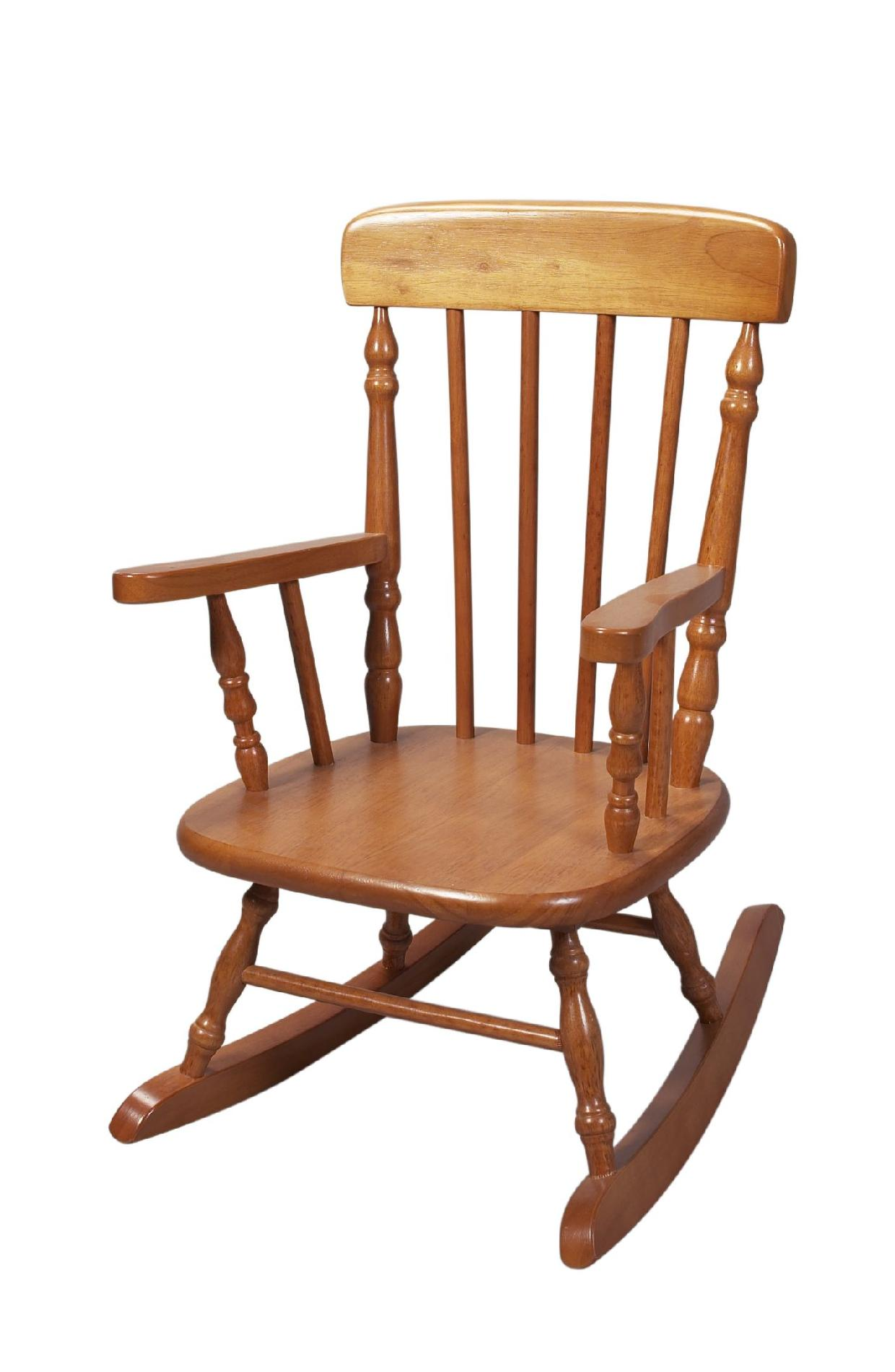 child rocking chair outdoor desk uk sale giftmark 1410h 39s colonial honey sears