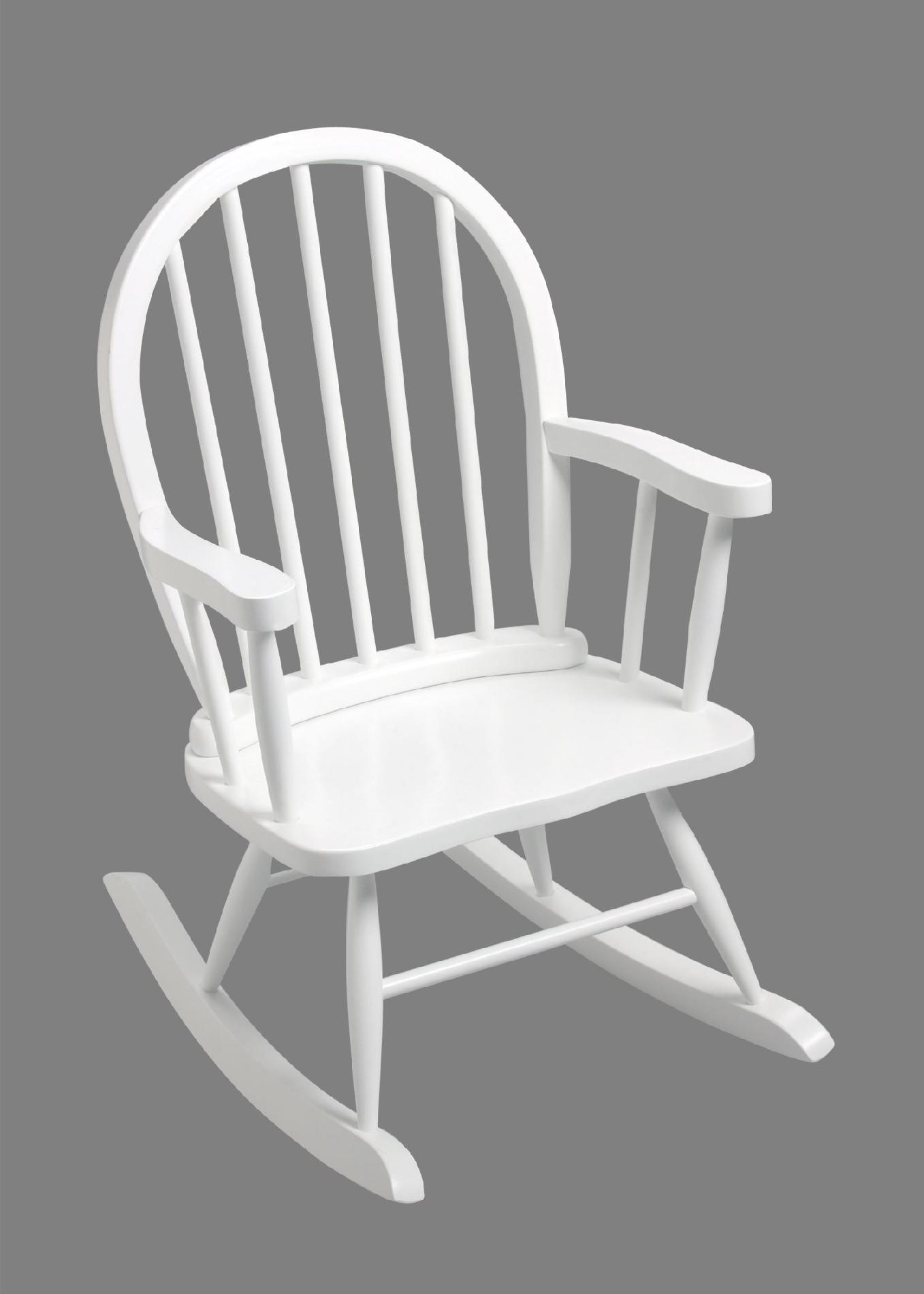 toddler white rocking chair wooden z high gift mark 3600w windsor