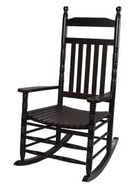 Gift Mark 3500E Adult Rocking Chair with Espresso Finish