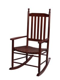Gift Mark 3400C Tall Back Adult Rocking Chair - Cherry