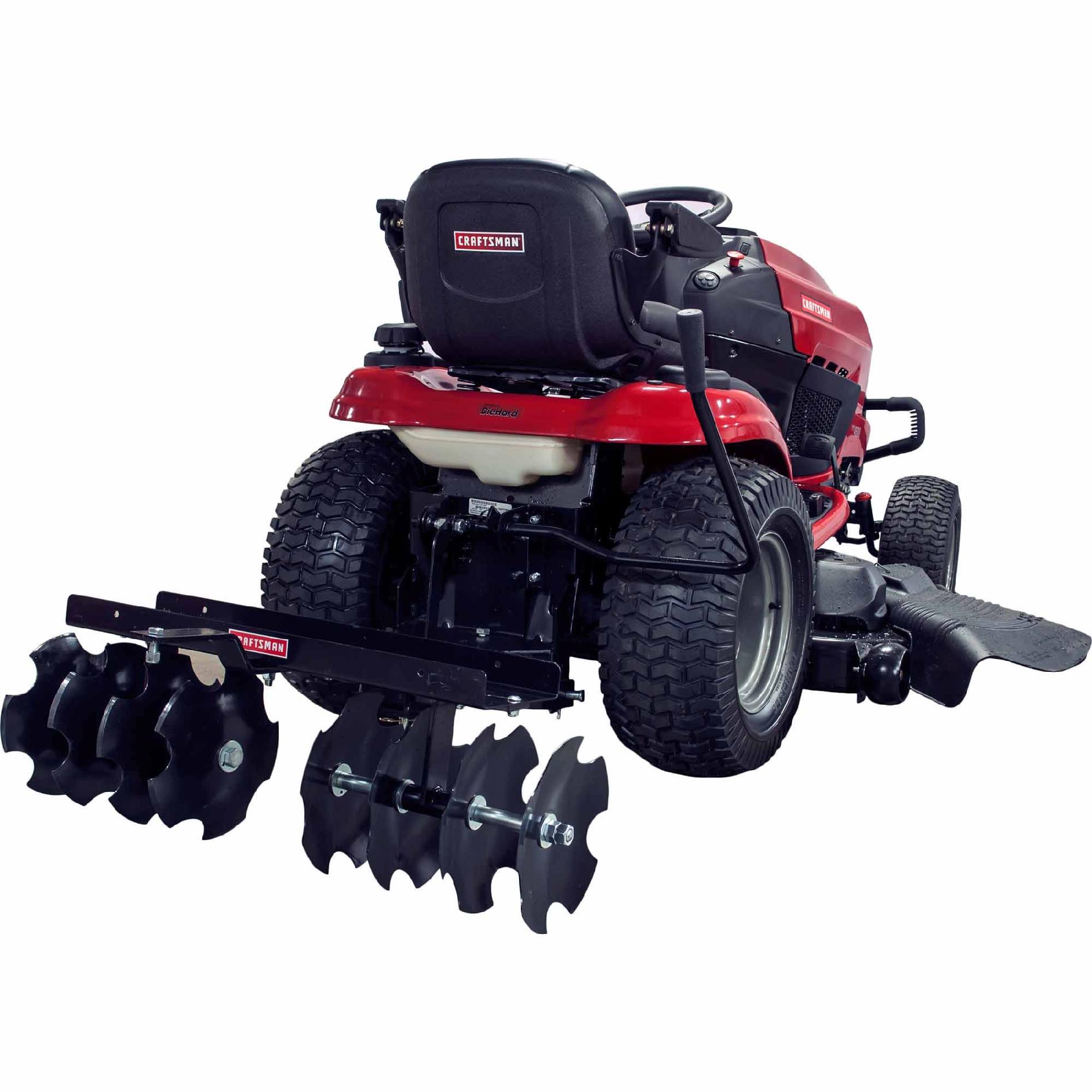 For Troy Bilt Garden Way Riding Mower Wiring Diagram Craftsman Garden Tractor Attachments Sears Com
