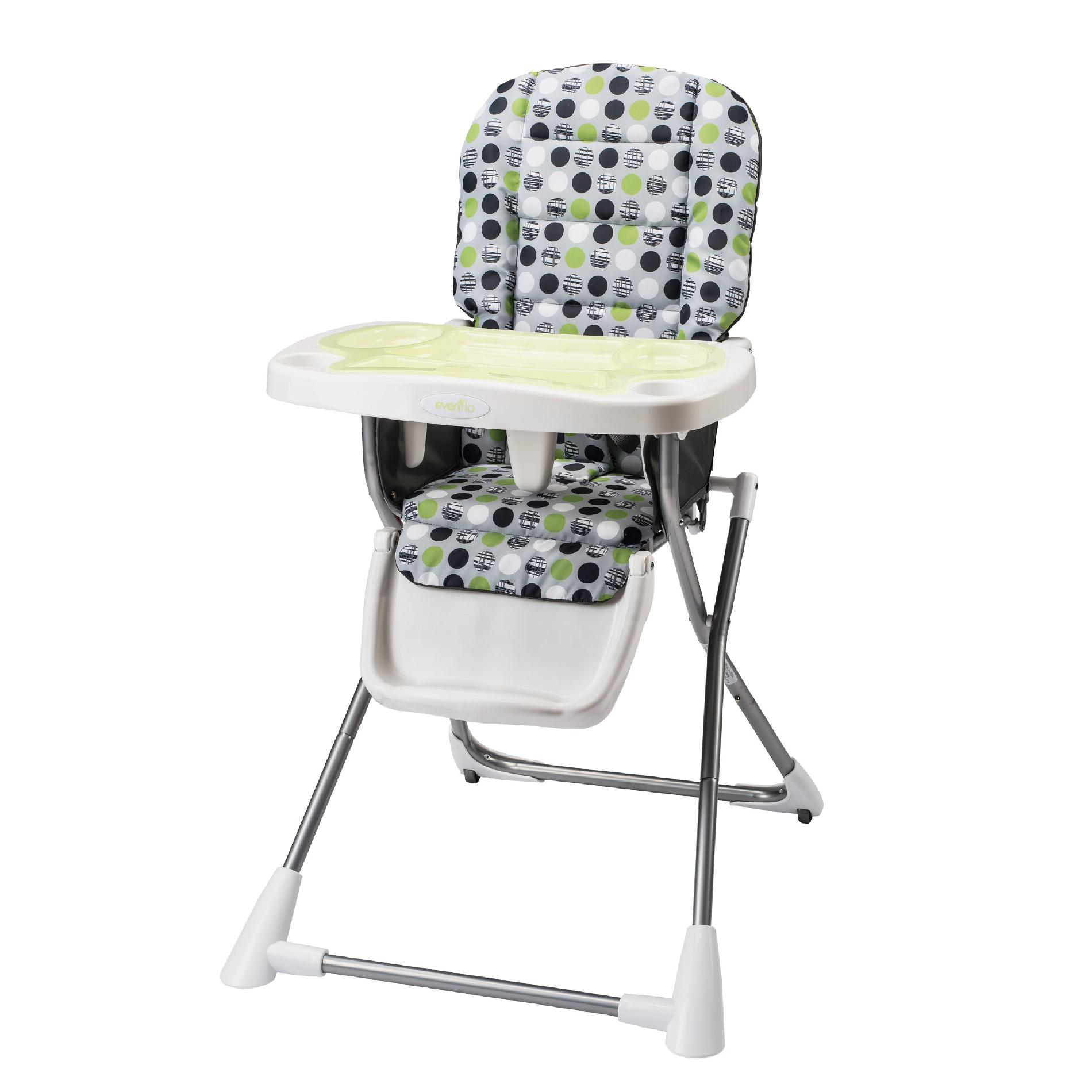 evenflo easy fold high chair mat for carpet compact lima baby feeding