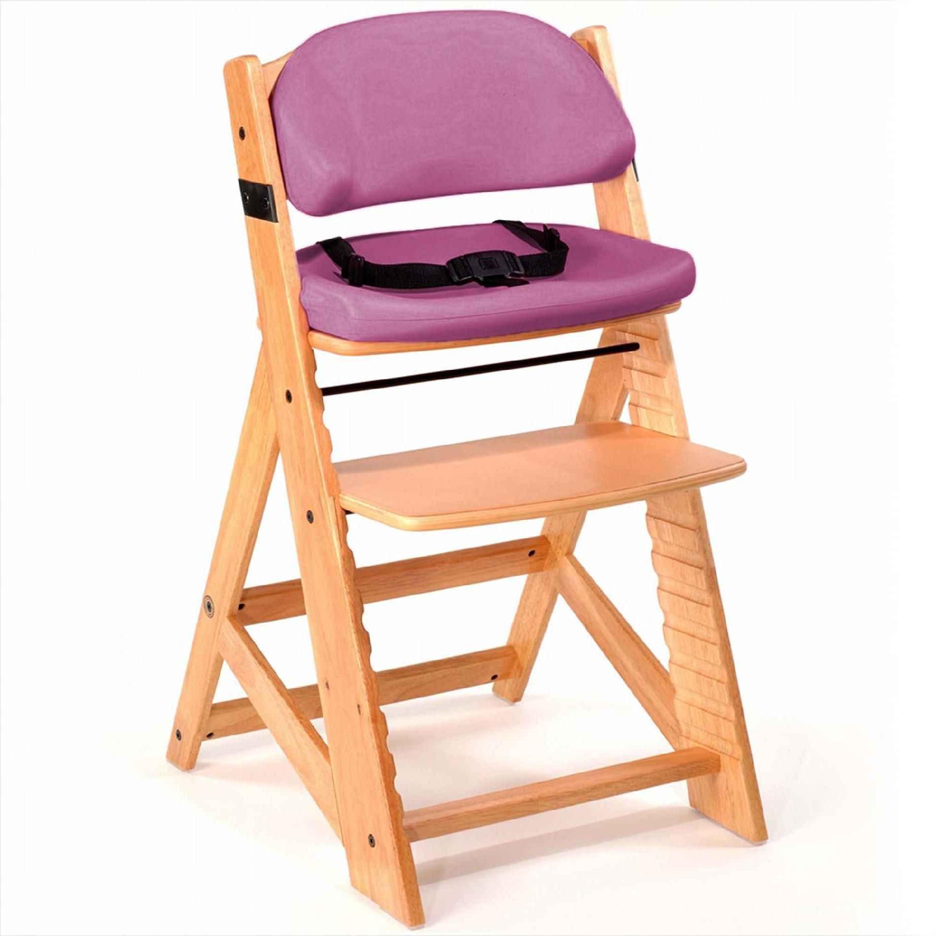 baby height chair acrylic chairs keekaroo right kids with comfort cushions