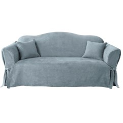 Sofa Covers At Kmart Couch Bed Sure Fit Soft Suede Slipcover