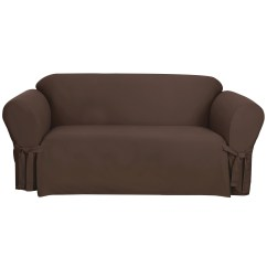 Sage Sofa Slipcovers Modern Sofas On Clearance Sure Fit Cotton Duck Slipcover