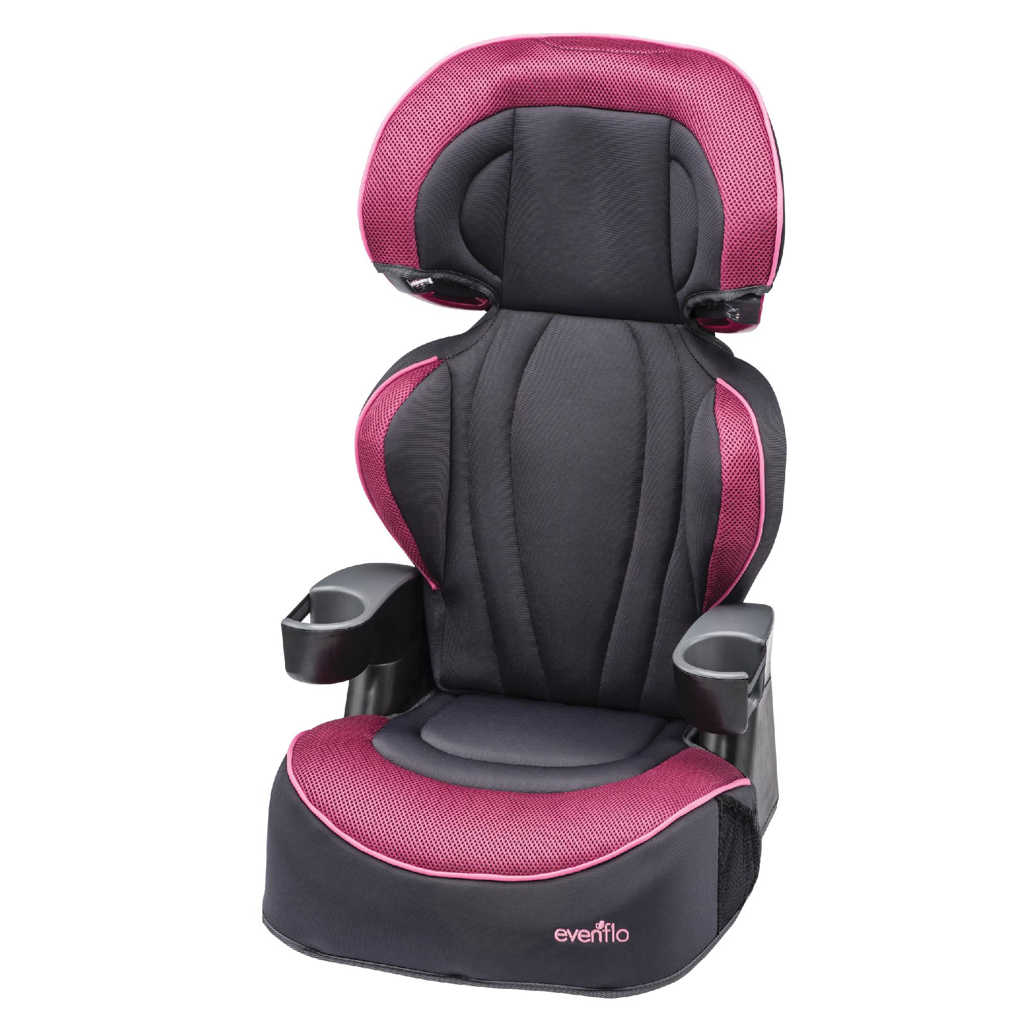 Chair Booster Evenflo Big Kid Lx High Back Booster Seat Berry Blast