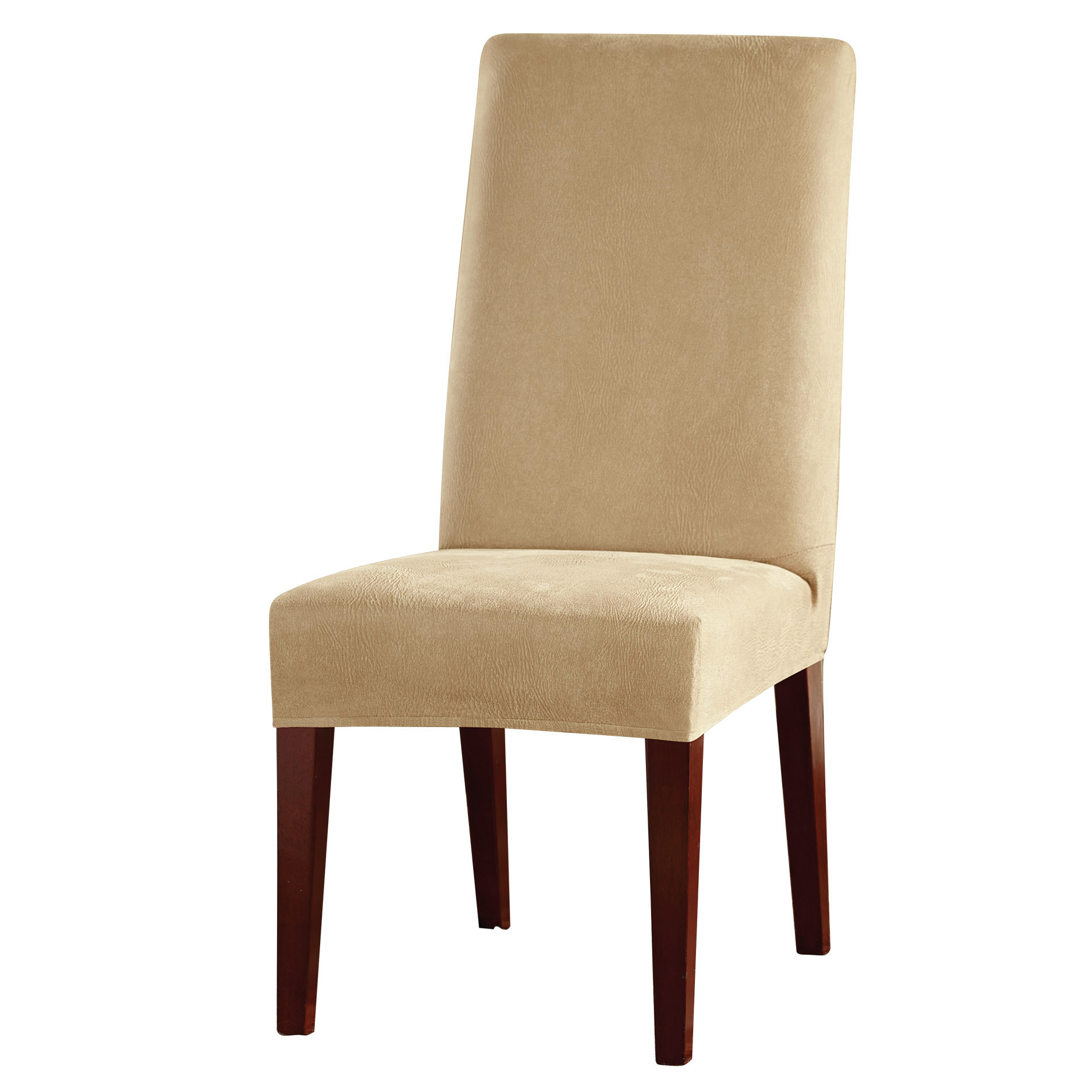 Kmart Dining Chairs Sure Fit Stretch Leather Short Dining Room Chair Camel