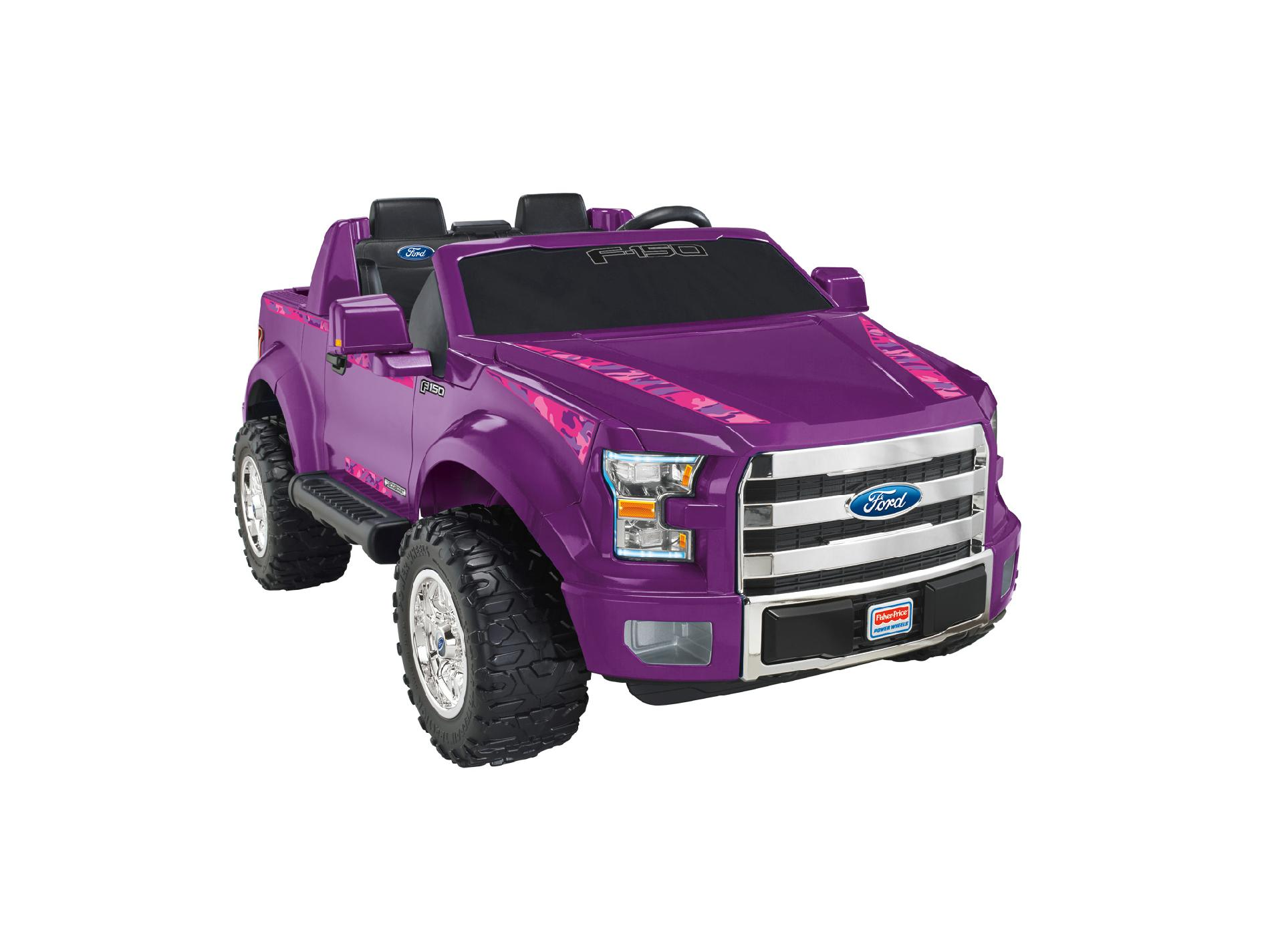 Fisher-Price Power Wheels Purple Ford F-150