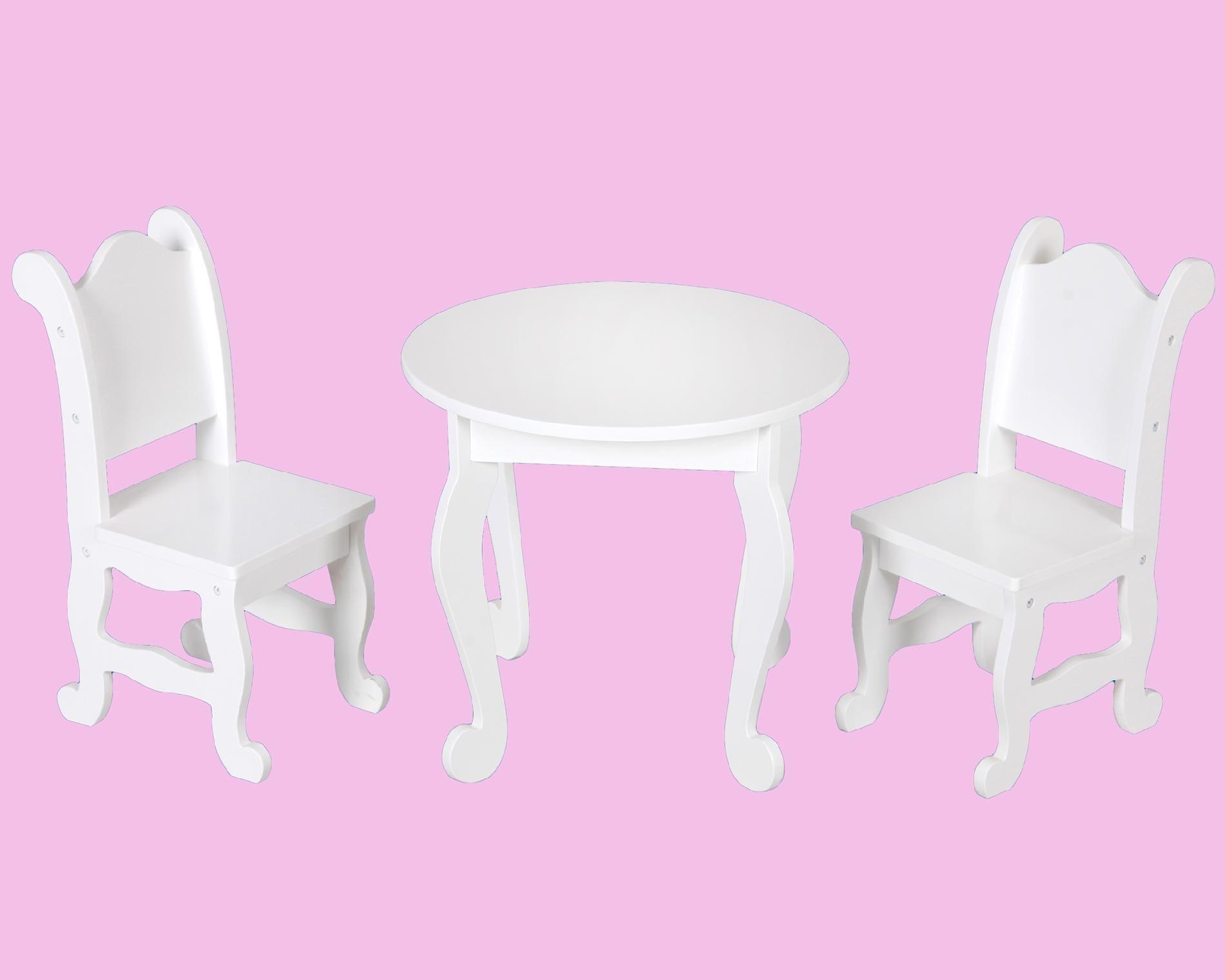 18 doll table and chairs web lawn chair kenyield quot furniture two