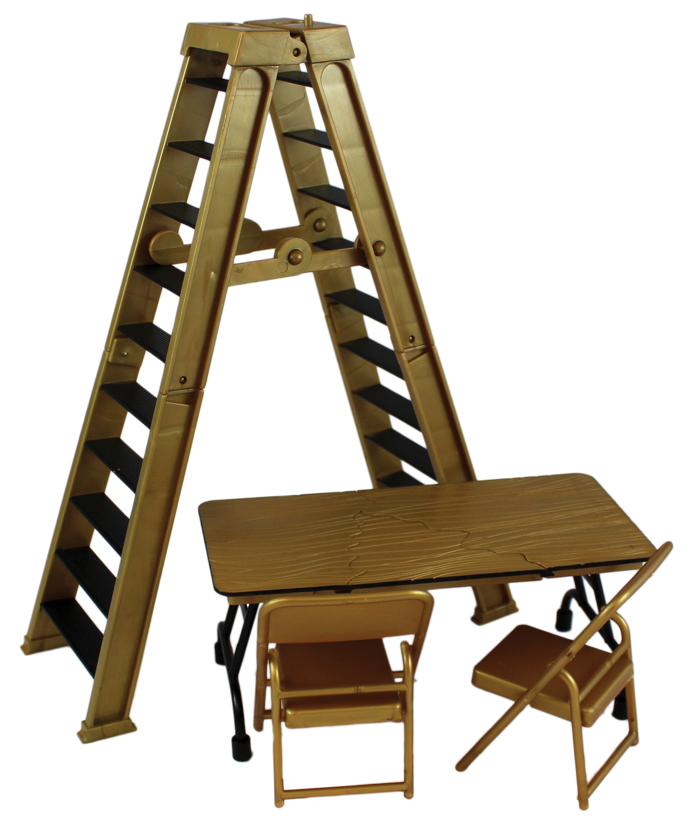 WWE Ultimate Ladder  Table Playset Gold  Ringside