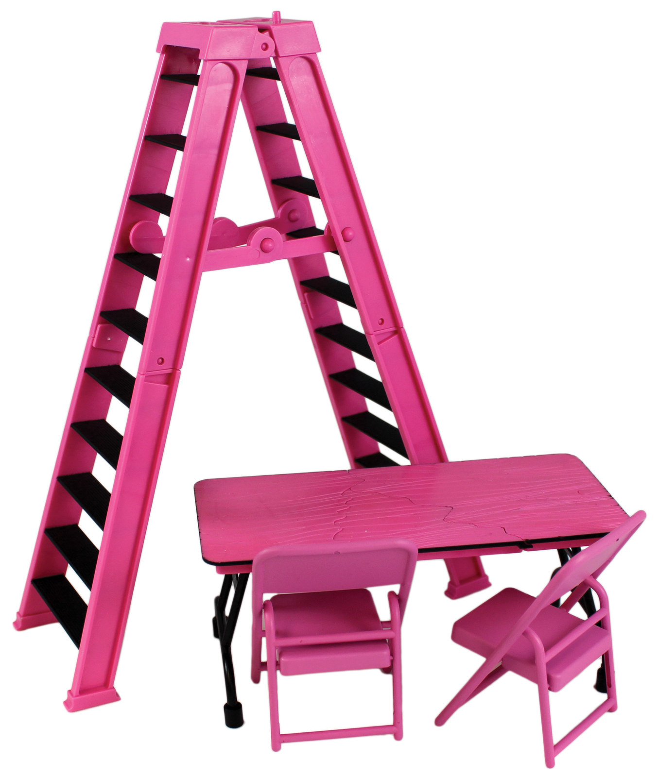 kmart table and chairs review high back chair wwe ultimate ladder & playset (pink) - ringside exclusive toy wrestling action figure ...