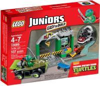 LEGO Juniors Turtle Lair - Toys & Games - Blocks ...