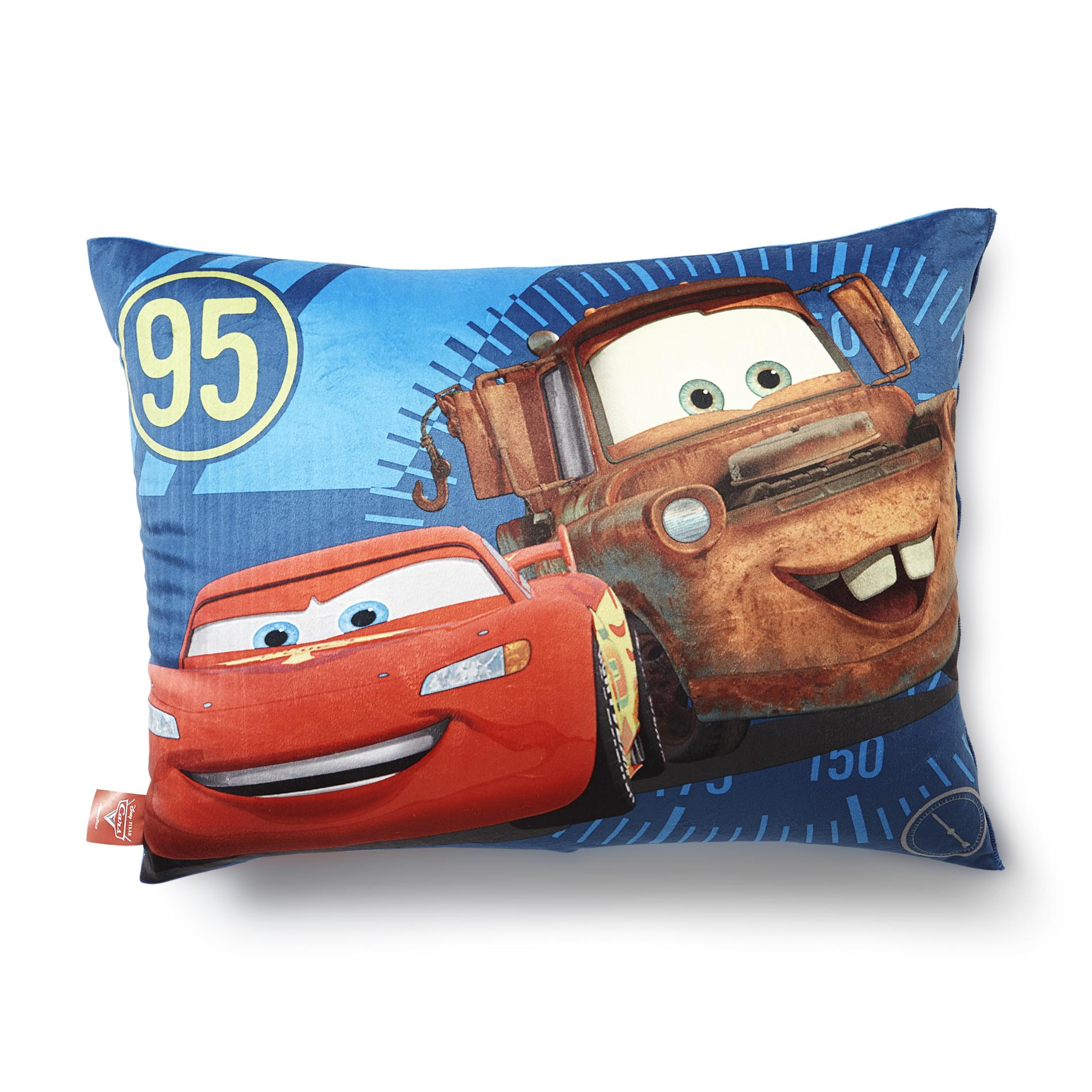 Disney Cars Bed Pillow