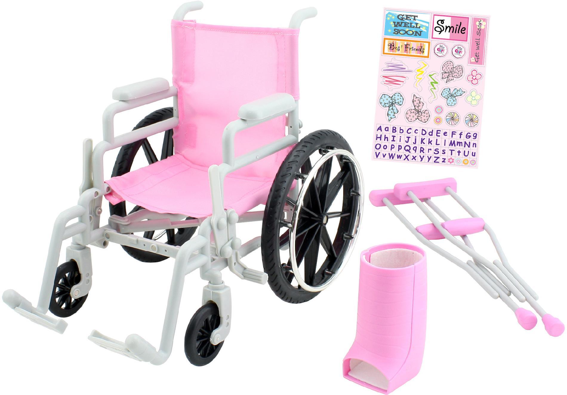 Enertec 18 Doll Wheelchair
