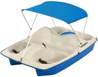 Sun Dolphin 5 Seat Pedal Boat Blue With Canopy