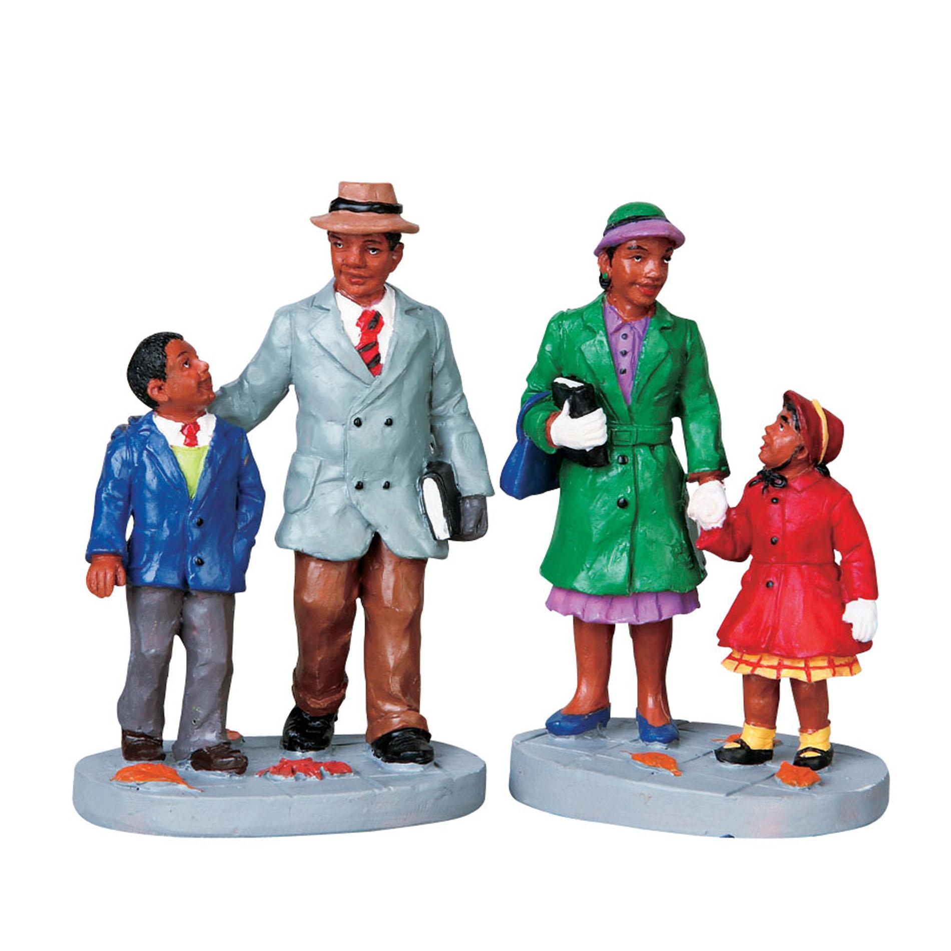 Lemax Village Collection Christmas Village Figurine Going