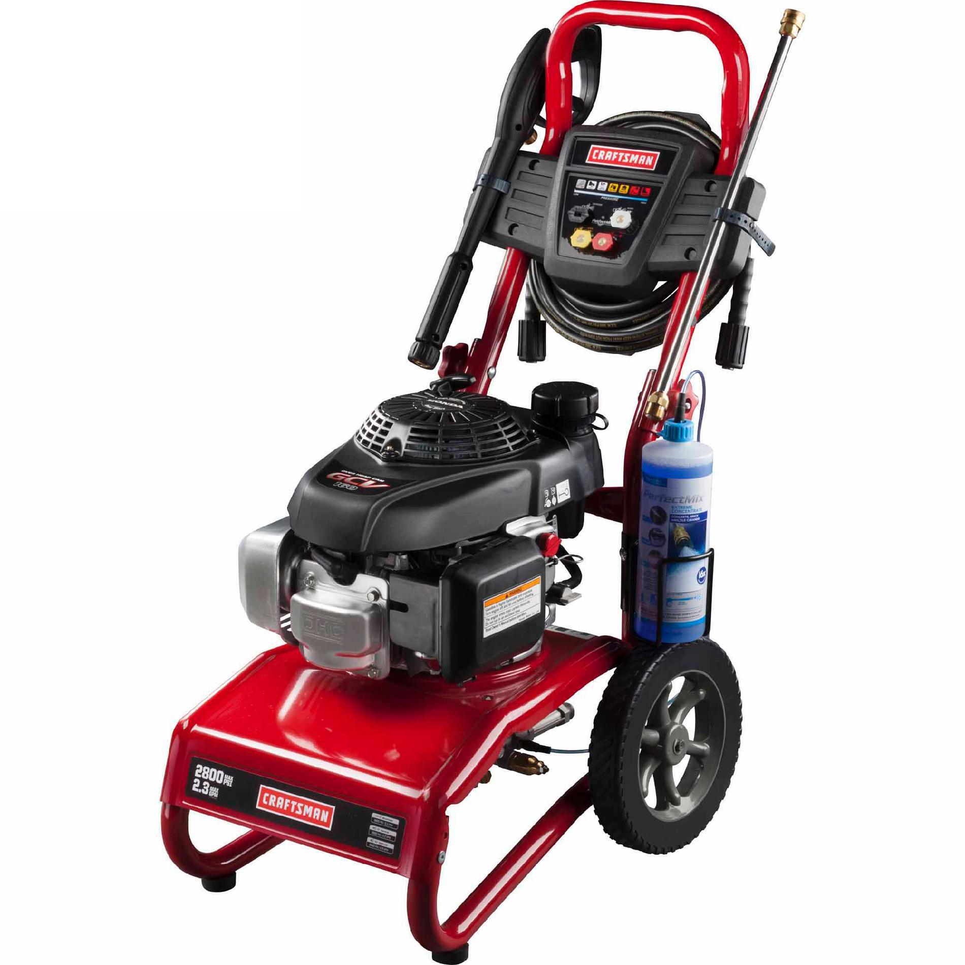 Craftsman 020579 2800psi 2.3 Gpm Gas-powered Pressure Washer