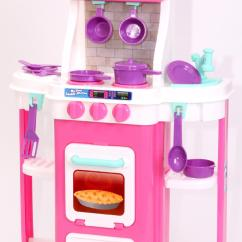 Baby Pink Kitchen Appliances Gas Stove Just Kidz My First Cookin 39 Toys And Games