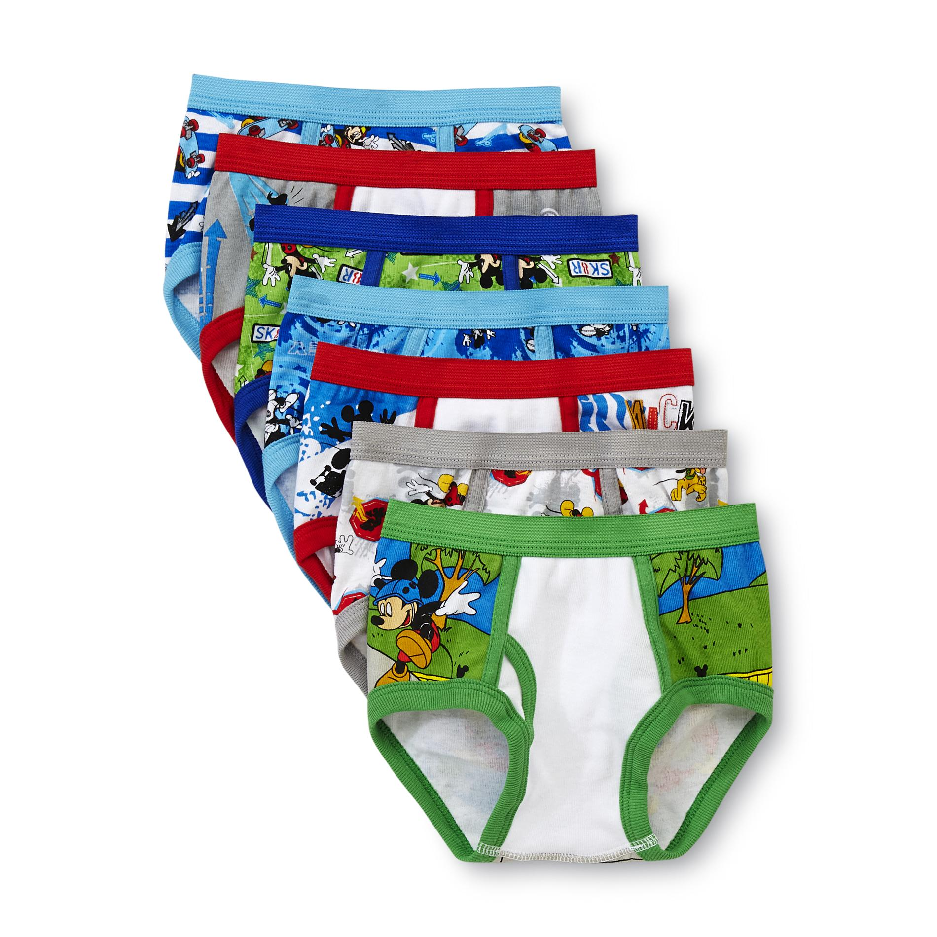 Mickey Mouse Toddler Underwear Boys