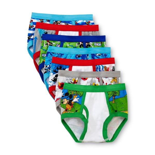 Disney Toddler Boy' Mickey Mouse Briefs 7-pack Online Shopping & Earn Points
