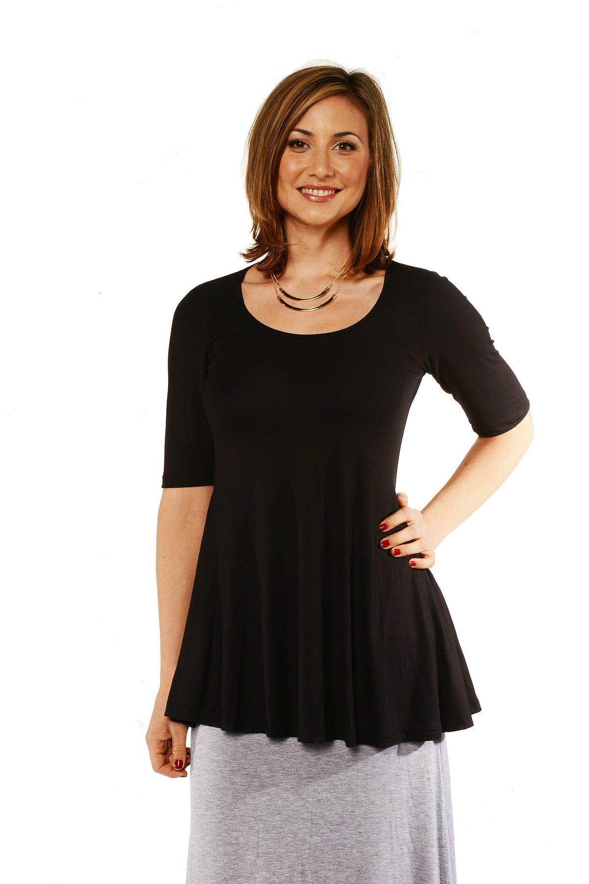 247 Comfort Apparel Women39s 34sleeve Tunic Clothing