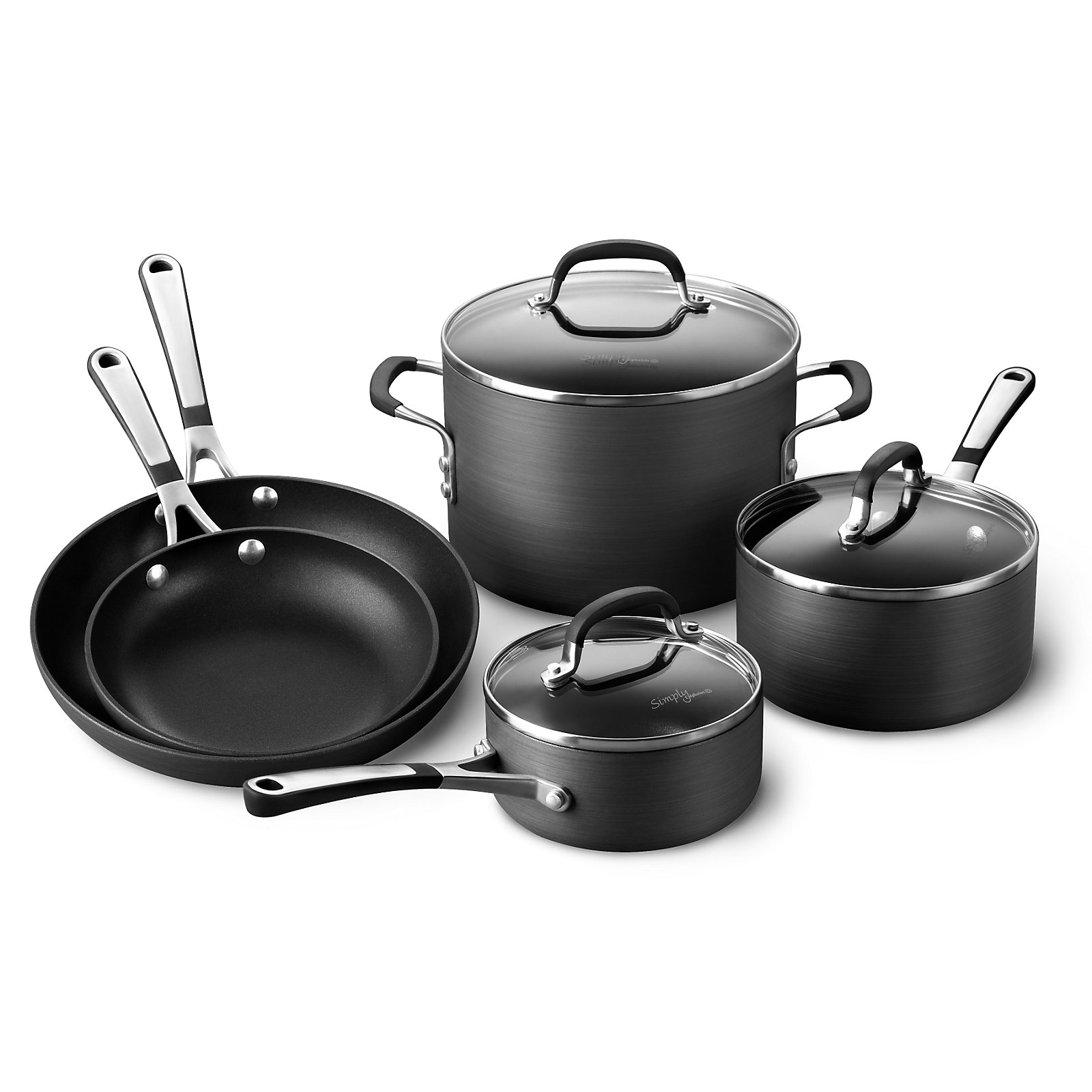 kitchen essentials by calphalon cabinets for cheap sauce pans saucepans and sauciers sears