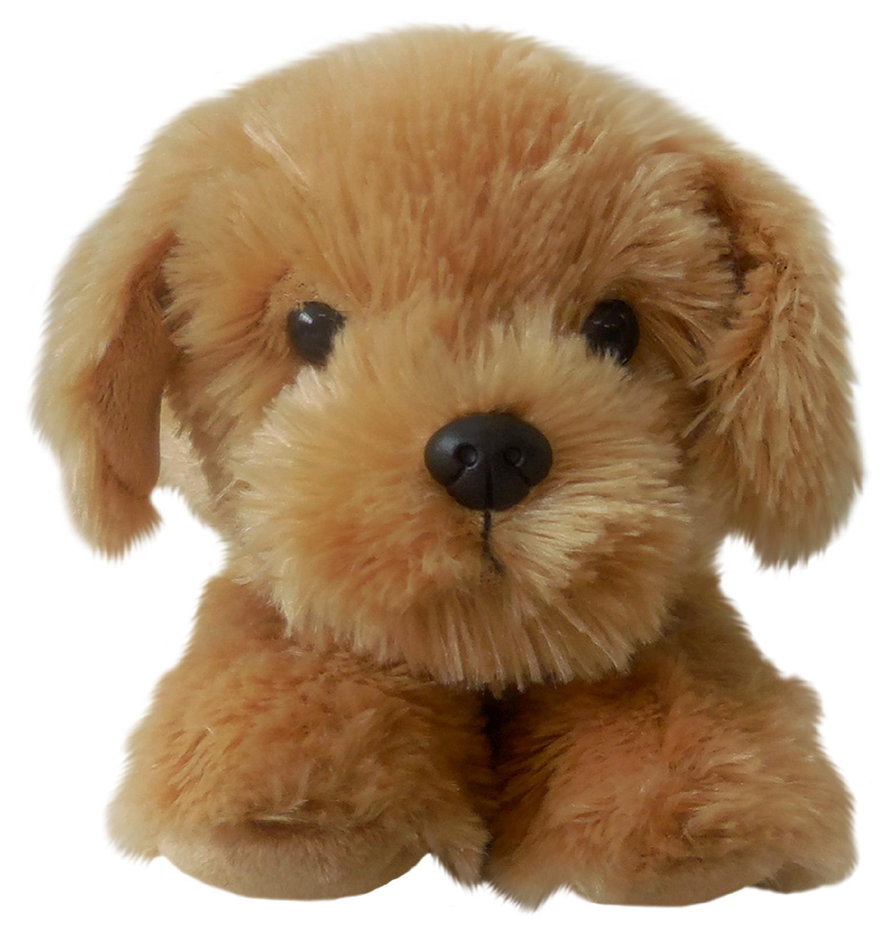 Realistic Dogs 8 Plush Golden Retriever