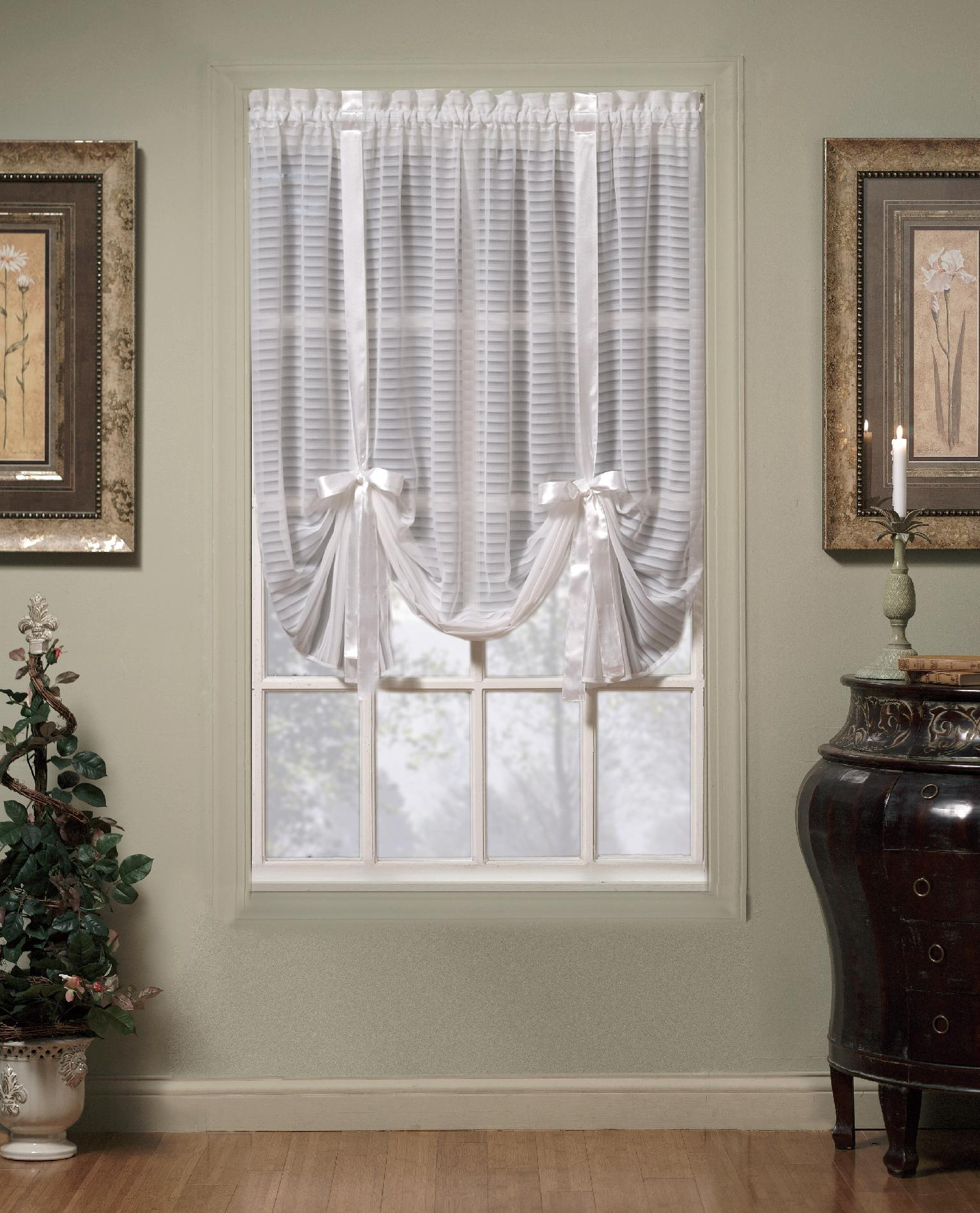Today S Curtain Silhouette 63 Quot Tie Up Shade