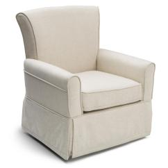 Kids Upholstered Rocking Chair Fur Cover Delta Children Glider Sand Baby