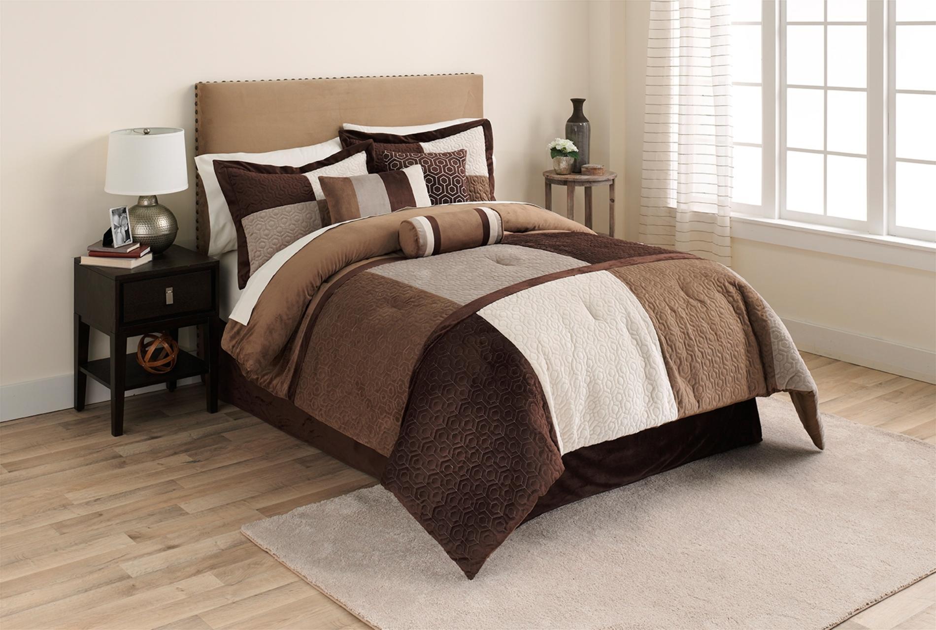 Microsuede Comforter Set