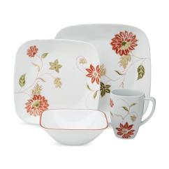 Sears Kitchen Appliances Marble Table Corelle 16-piece Square Dinnerware Set - Matilda