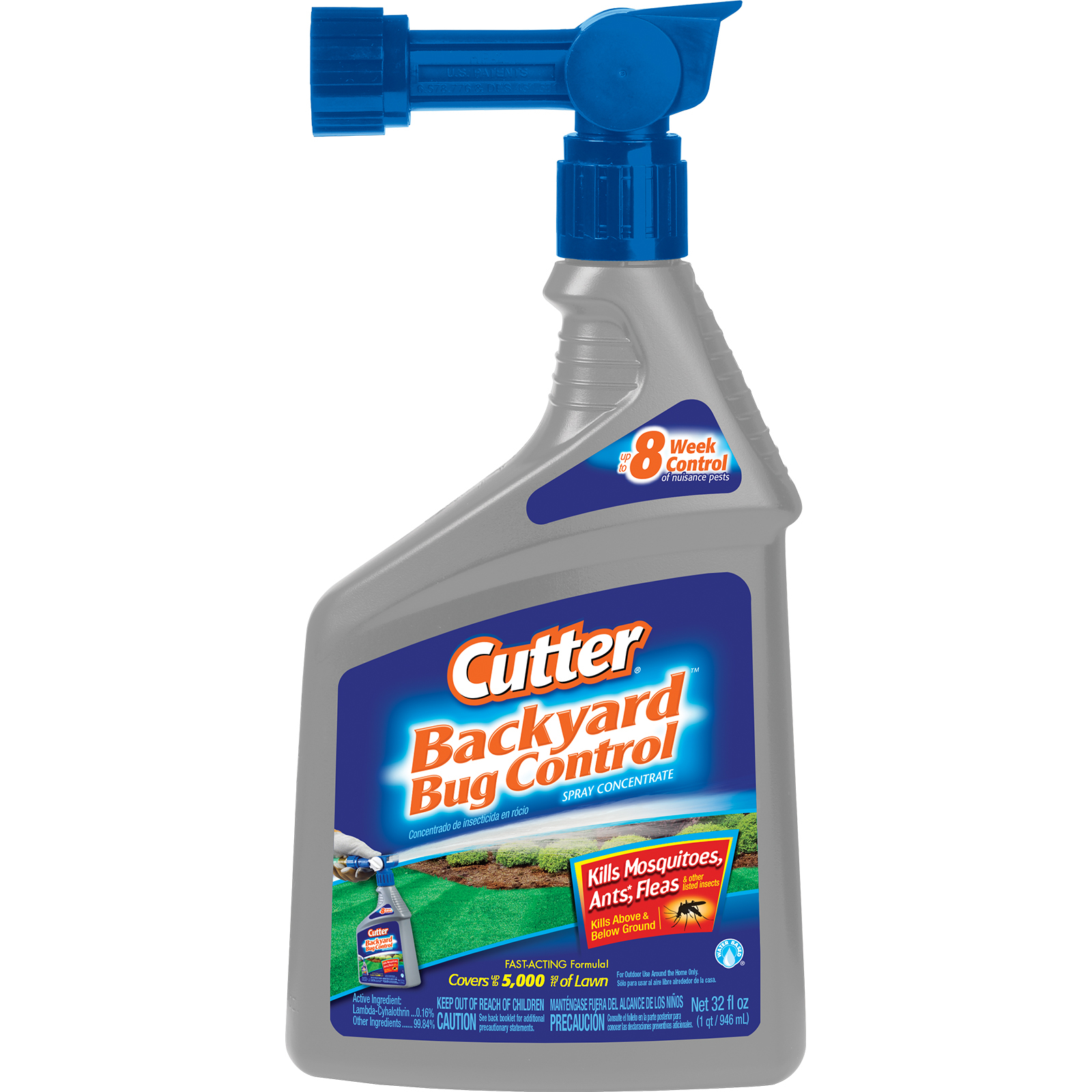 Cutter 61067 Backyard Bug Control, Spray Concentrate, 32